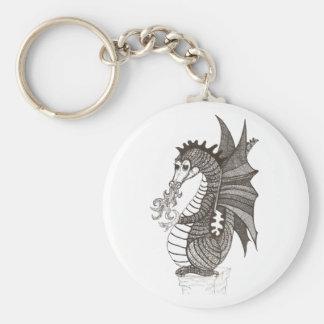 Friendly Dragon Keychain