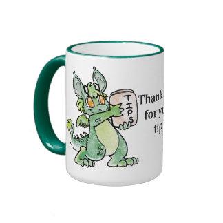 Friendly Dragon Tip Cup