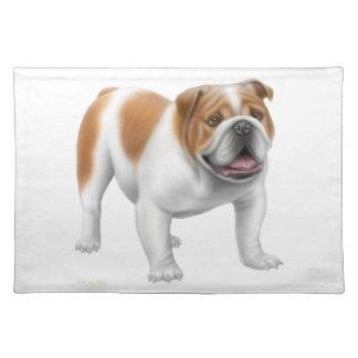 Friendly English Bulldog Placemat