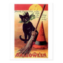 Friendly Fairy Vintage Halloween Postcards