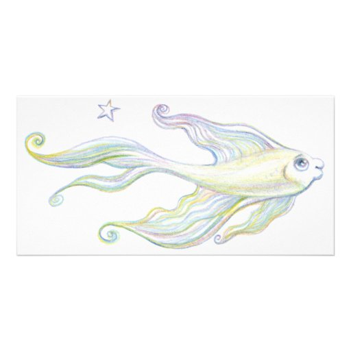 Friendly Fish Picture Card