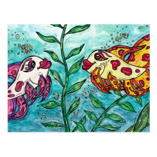 Friendly Fish Postcard