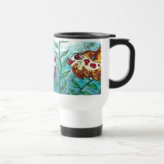 Friendly Fish Travel Mug
