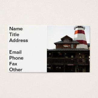 Friendly Fisherman Business Card