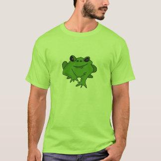 Friendly Frog Cartoon Character T-Shirt