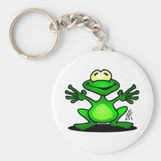 Friendly Frog Keychain