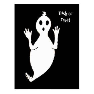 Friendly Ghost Postcard