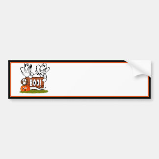 Friendly Ghosts and Pals Bumper Sticker