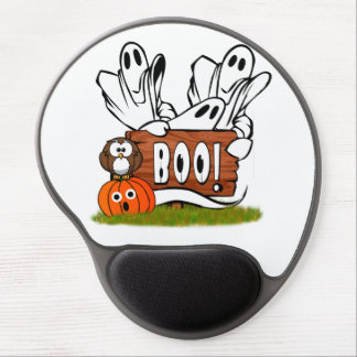 Friendly Ghosts and Pals Gel Mouse Mat