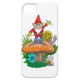 Friendly gnome iPhone SE/5/5s case
