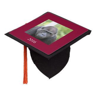 friendly gorilla graduation cap topper