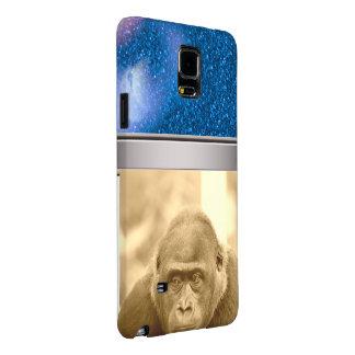 friendly gorilla, sepia galaxy note 4 case