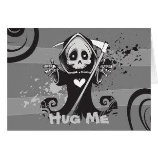 Friendly Grim Ripper - Hug me Card
