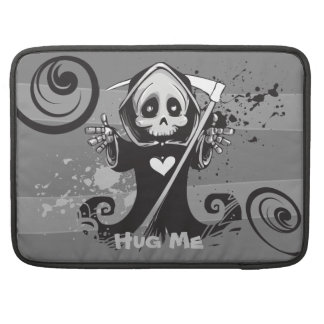 Friendly Grim Ripper - Hug me MacBook Pro Sleeve