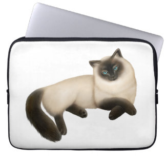 Friendly Himalayan Cat Electronics Bag