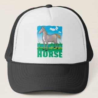 Friendly Horse Trucker Hat
