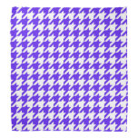 friendly houndstooth pattern bandana