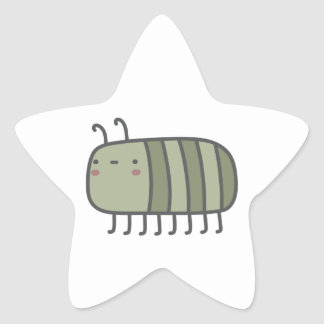 Friendly Insect Star Sticker