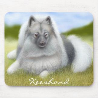 Friendly Keeshond Dog Mousepad