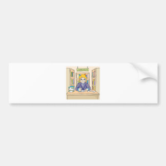 Friendly Librarian Bumper Stickers