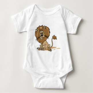 Friendly Lion Baby Bodysuit