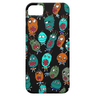 Friendly little monsters iPhone 5 cover