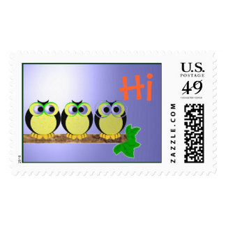 Friendly little Owls Postage