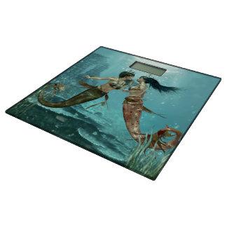 Friendly Mermaids Bathroom Scale