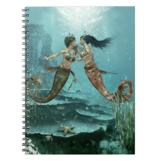 Friendly Mermaids Notebook