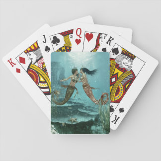 Friendly Mermaids Playing Cards