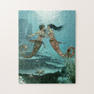 Friendly Mermaids Puzzle