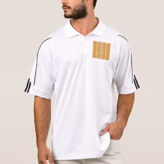 friendly mixed borders golden polo shirts