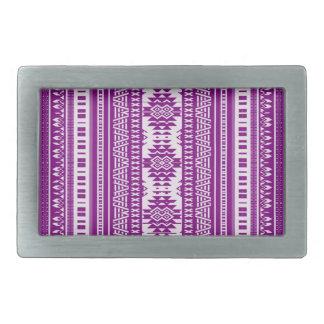 friendly mixed borders purple rectangular belt buckles
