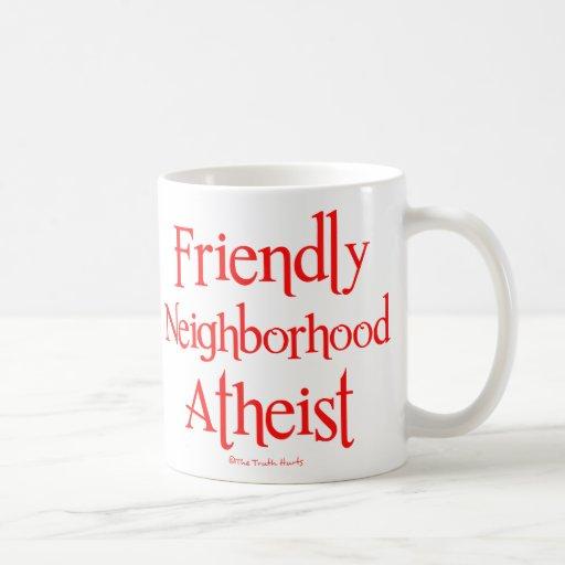 Friendly Neighborhood Atheist Coffee Mugs