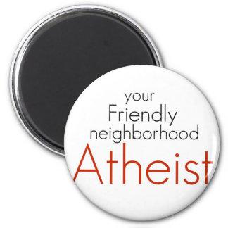 Friendly neighborhood atheist magnet