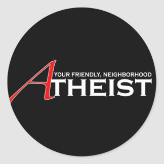 Friendly Neighborhood Atheist Sticker