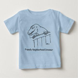 Friendly Neighborhood Dinosaur Baby T-Shirt