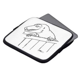Friendly Neighborhood Dinosaur Computer Sleeves
