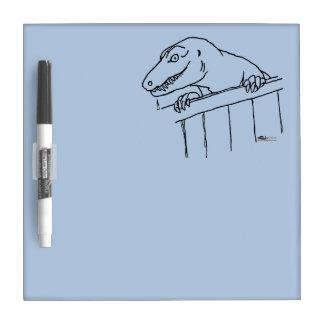 Friendly Neighborhood Dinosaur Dry-Erase Board