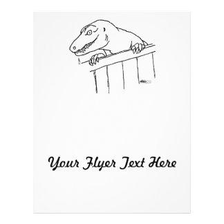 Friendly Neighborhood Dinosaur Flyer