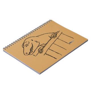Friendly Neighborhood Dinosaur Spiral Notebook