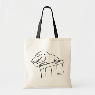 Friendly Neighborhood Dinosaur Tote Bag