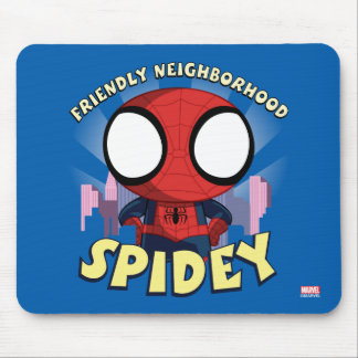 Friendly Neighborhood Spidey Mini Spider-Man Mouse Pad