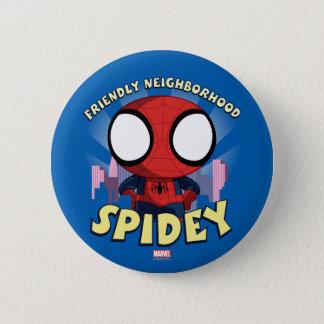 Friendly Neighborhood Spidey Mini Spider-Man Pinback Button