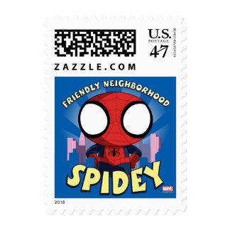 Friendly Neighborhood Spidey Mini Spider-Man Postage