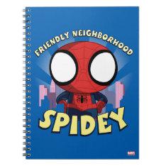 Friendly Neighborhood Spidey Mini Spider-man Spiral Notebook at Zazzle