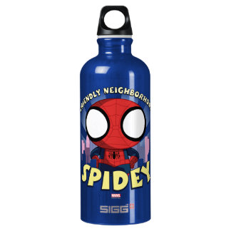 Friendly Neighborhood Spidey Mini Spider-Man Water Bottle