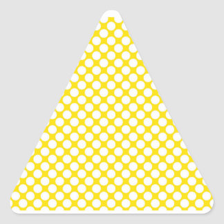 Friendly Nurturing Yes Upright Triangle Sticker