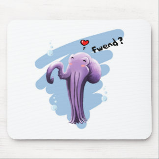Friendly Octopus Mouse Pad