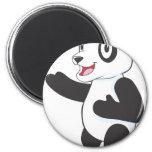 Friendly Panda Refrigerator Magnets